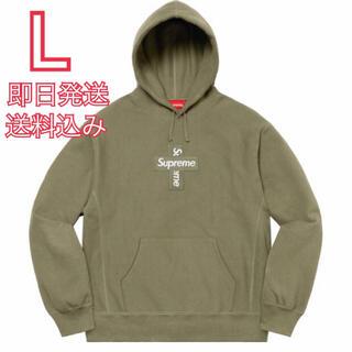 シュプリーム(Supreme)のL Cross Box Logo Hooded Sweatshirt(パーカー)