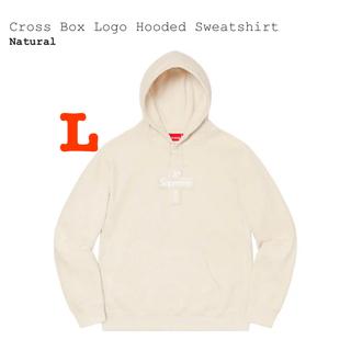 シュプリーム(Supreme)のCross Box Logo Hooded Sweatshirt 早い者勝ち(パーカー)