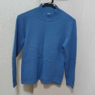 ランバンオンブルー(LANVIN en Bleu)のランバンオンブルー カシミヤセーター(ニット/セーター)