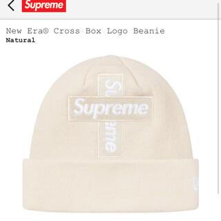 シュプリーム(Supreme)のSupream New Era® Cross Box Logo Beanie(ニット帽/ビーニー)