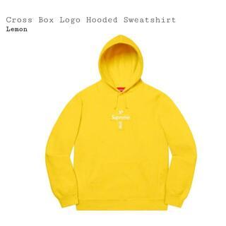 Supreme Cross Box Logo Hooded Sweatshirt
