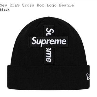 シュプリーム(Supreme)のシュプリーム ボックスロゴ ビーニー クロス supreme boxlogo(ニット帽/ビーニー)
