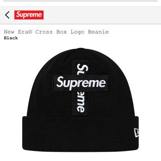 シュプリーム(Supreme)のNew Era  Cross Box Logo Beanie シュプリーム  (ニット帽/ビーニー)