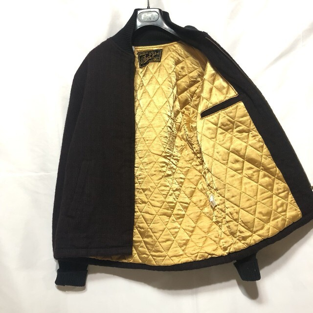 CALEE(キャリー)のThe Calee(キャリー)ウールブルゾン メンズのジャケット/アウター(ブルゾン)の商品写真
