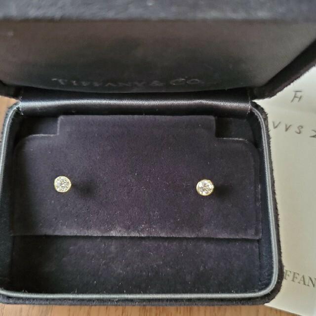 Tiffany & Co.(ティファニー)のティファニー バイザヤードピアス YG 0.42ct レディースのアクセサリー(ピアス)の商品写真