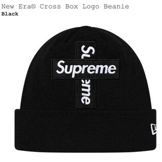 シュプリーム(Supreme)のNew Era Cross Box Logo Beanie Supreme (ニット帽/ビーニー)