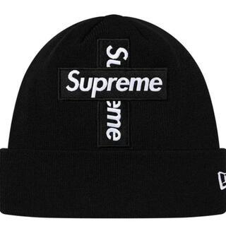 Supreme New Era® Cross Box Logo Beanie(ニット帽/ビーニー)