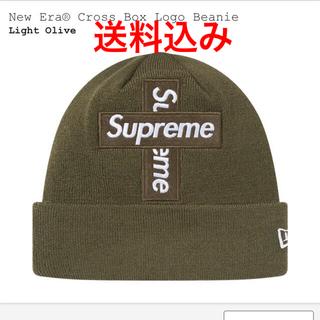 Supreme - New Era  Cross Box Logo Beanie シュプリーム