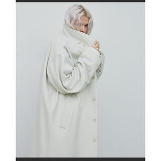 LAD MUSICIAN - AIVER  メルトンステンカラーコート
