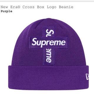 シュプリーム(Supreme)のSupreme cross box logo beanie(ニット帽/ビーニー)