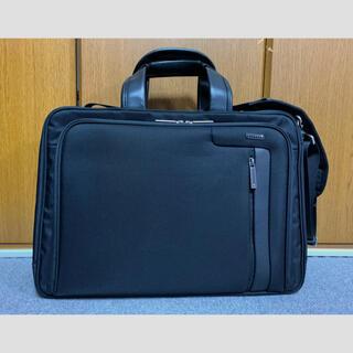 エースジーン(ACE GENE)のエース ACEGENE  ビジネスバッグ 黒 出張用 中古品(ビジネスバッグ)