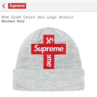 シュプリーム(Supreme)のSupreme NewEra®CrossBoxLogoBeanie(ニット帽/ビーニー)