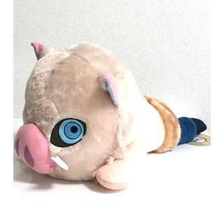 BANPRESTO - 鬼滅の刃 メガジャンボ寝そべりぬいぐるみ 伊之助 獣面Ver