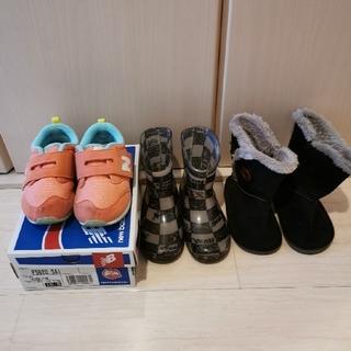 New Balance - new balance 長靴 ブーツ 16.5㎝/16㎝