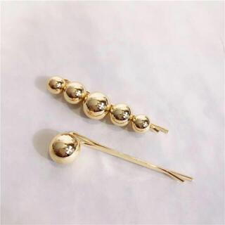 イエナ(IENA)のSALE!gold ball hair pins(ヘアピン)