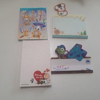 ディズニー(Disney)の写真二枚目分ふせん追加しました!ディズニー&スヌーピーふせんアソート (ノート/メモ帳/ふせん)