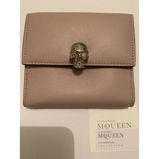 アレキサンダーマックイーン(Alexander McQueen)の新品 アレキサンダーマックイーン 財布 モーブ(財布)