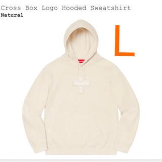 シュプリーム(Supreme)のSupreme Cross Box Logo Hooded Sweatshir(パーカー)