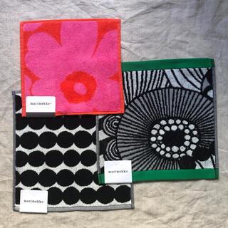 marimekko - マリメッコ タオルハンカチ ハンドタオル 3枚セット 新品