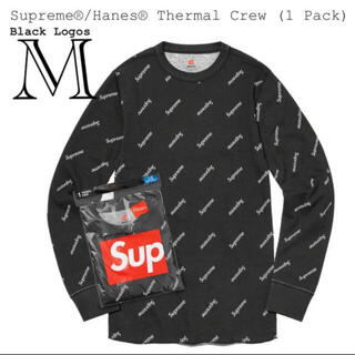 シュプリーム(Supreme)のsupreme / hanes black logos(Tシャツ/カットソー(七分/長袖))