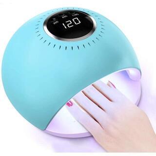 ネイルドライヤー 硬化用UVライト 84W LED & UV ネイルライト UV