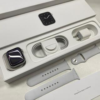 Apple Watch - Apple Watch☆中古 series5 40mm シルバー