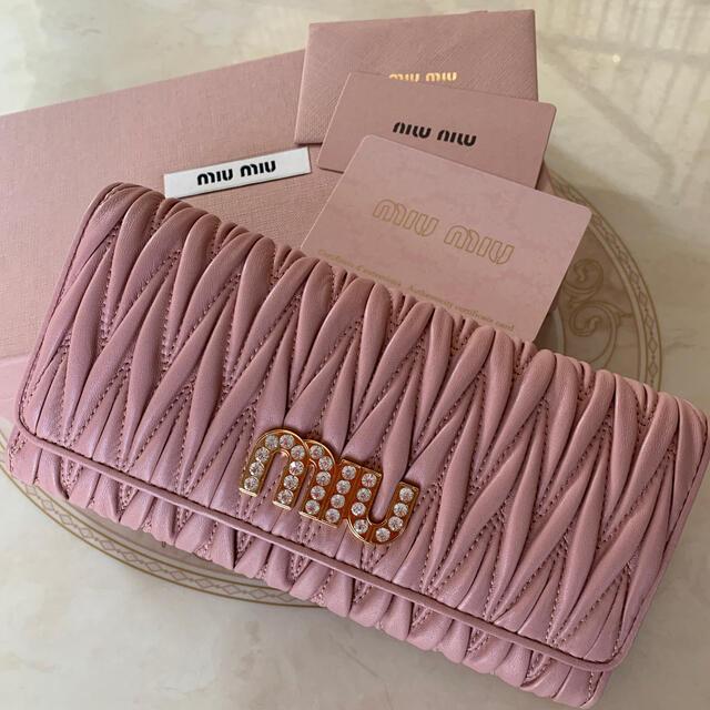 miumiu(ミュウミュウ)の♡はな様♡専用 レディースのファッション小物(財布)の商品写真