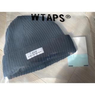 ダブルタップス(W)taps)の※新品未使用 WTAPS 20AW BEANIE WOAC BLACK(ニット帽/ビーニー)
