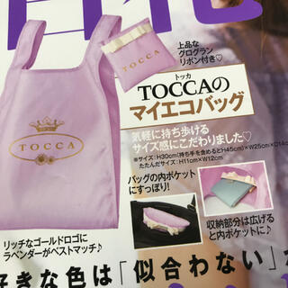 TOCCA - 美人百花付録☆トッカ エコバック☆新品未使用❣️