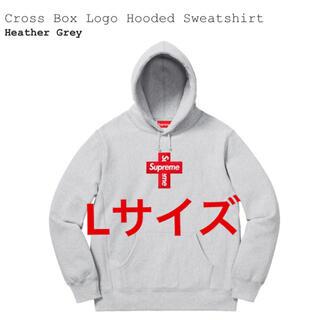 シュプリーム(Supreme)のSupreme Cross Box Logo Lサイズ(パーカー)