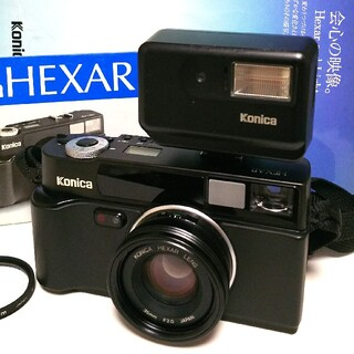 KONICA MINOLTA - Konica Hexar / ヘキサー  35mm F2.0 専用ストロボ