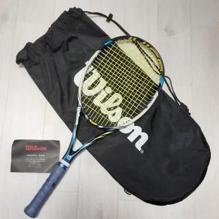 ウィルソン(wilson)の♪Wilson テニスラケット JUCE100 ケース付き amplifeel(ラケット)