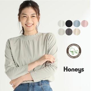 HONEYS - ハニーズ シネマクラブ シャーリングハイネック アイボリー