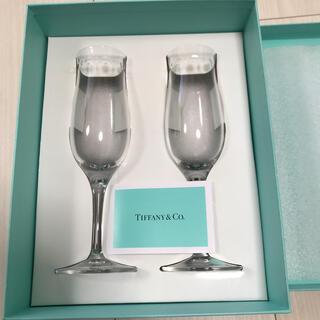 ティファニー(Tiffany & Co.)のフランス製ティファニー スウィング ペア シャンパングラス/ワインにも(グラス/カップ)