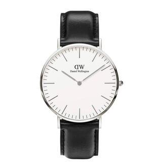 ダニエルウェリントン(Daniel Wellington)の【40㎜】ダニエルウェリントン 腕時計〈DW00100020〉3年保証付(腕時計(アナログ))