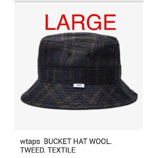ダブルタップス(W)taps)のWTAPS 20AW 12/05 BUCKET HAT WOOL TWEED (ハット)