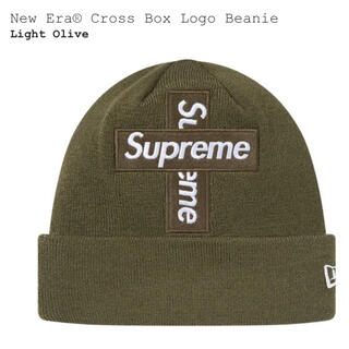 Supreme - supreme Cross Box Logo Beanie オリーブ