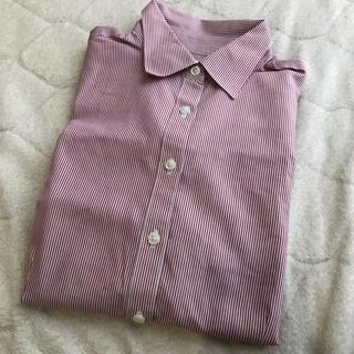 ブルックスブラザース(Brooks Brothers)の美品 ブルックスブラザーズ レッドストライプシャツ(シャツ/ブラウス(長袖/七分))