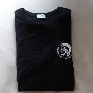 DIESEL - ディーゼル メンズ半袖 メンズTシャツ 黒T 半袖