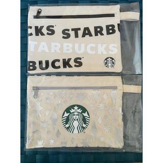 Starbucks Coffee - スターバックス ホリデー  ポーチ