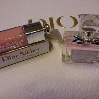 Christian Dior - ミニリップマキシマイザー&ミニ香水