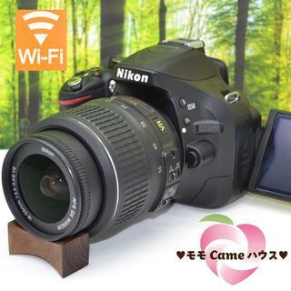 Nikon - ニコン D5200☆高画質&高機能一眼レフ☆スマホ転送OK☆1293