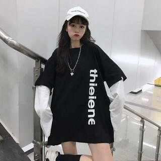 dholic - 韓国風 裏起毛 Tシャツ カットソー カジュアル トレーナー