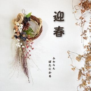 *専用*迎春 2021  正月飾り ドライフラワー ⑬(ドライフラワー)