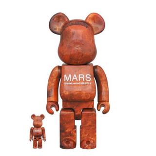 メディコムトイ(MEDICOM TOY)のBE@RBRICK MARS 100% 400% ベアブリック マーズ(キャラクターグッズ)