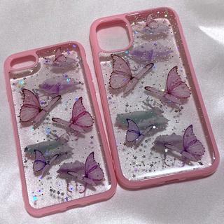 蝶々 iPhoneケース