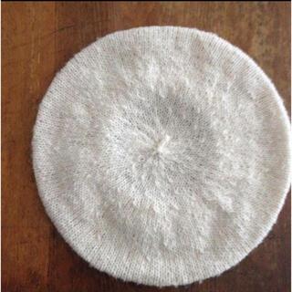 ピュアルセシン(pual ce cin)のpual ce cin  ニットベレー帽(ハンチング/ベレー帽)