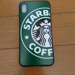スターバックスコーヒー(Starbucks Coffee)の★年末セール★スタバスマホケース グリーン iPhoneX(iPhoneケース)