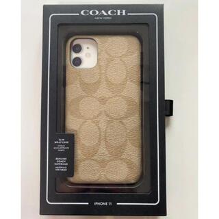 COACH - 【新品】coach iPhone11 ケース