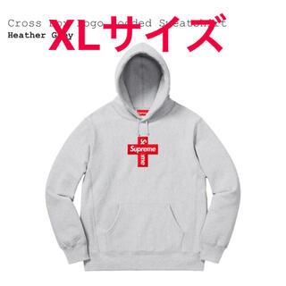 シュプリーム(Supreme)のSupreme Cross Box Logo XLサイズ(パーカー)